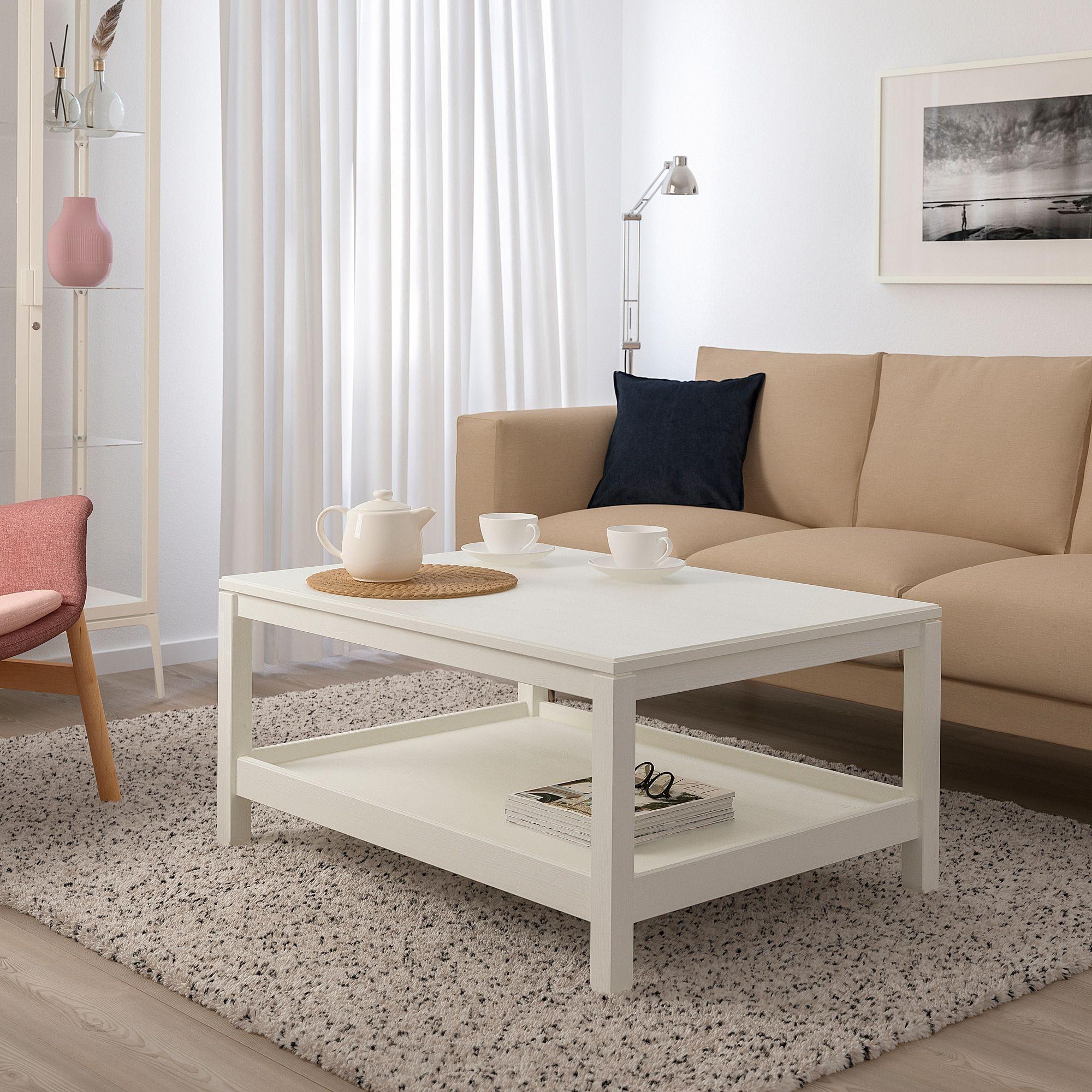 Havsta White Coffee Table 100x75 Cm Ikea Idei Ikea Belye Kozhanye Divany Skandinavskij Dizajn [ 2000 x 2000 Pixel ]