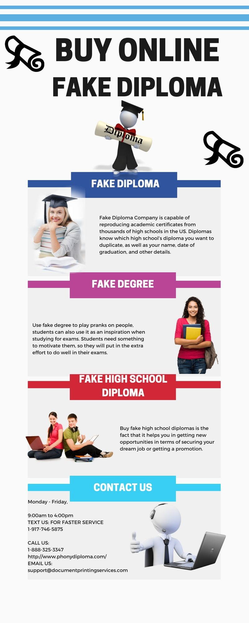 If you buy fake diploma, you can get new opportunities of