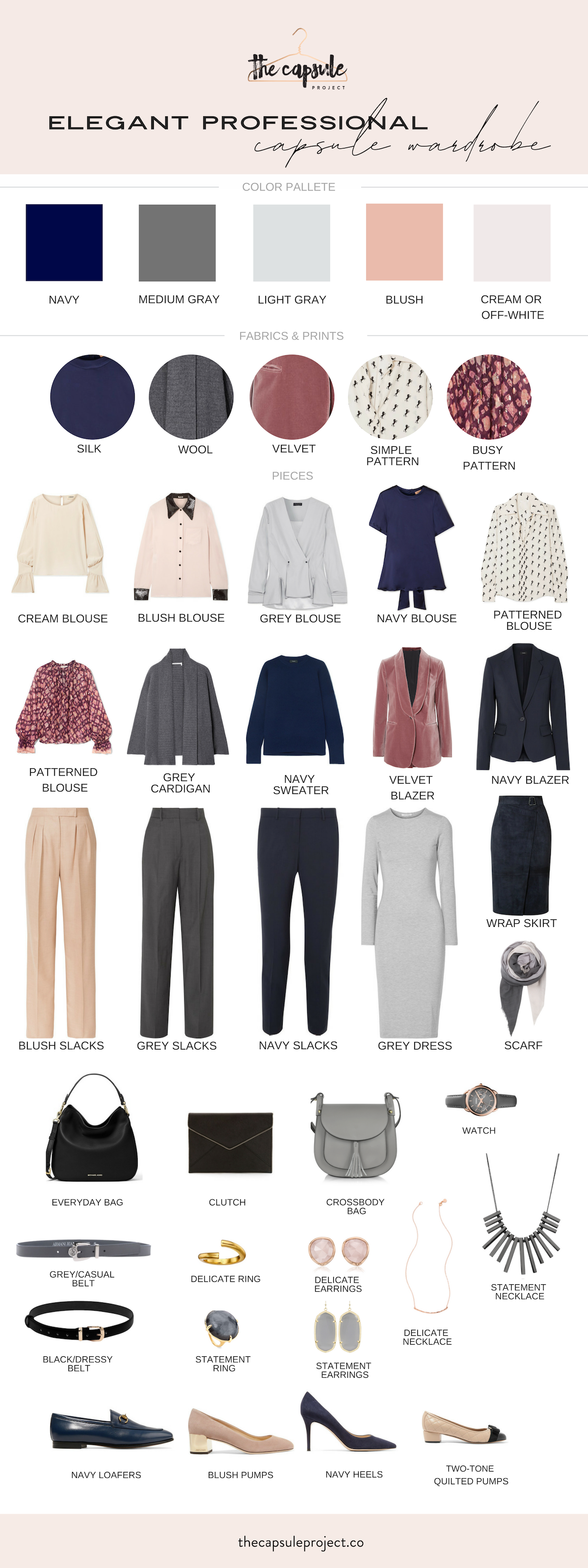 Elegant Winter Work Capsule Wardrobe #workwardrobe