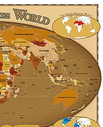 Endonym Map Interactive World Map Of Country Names In Their Local - World map and country names