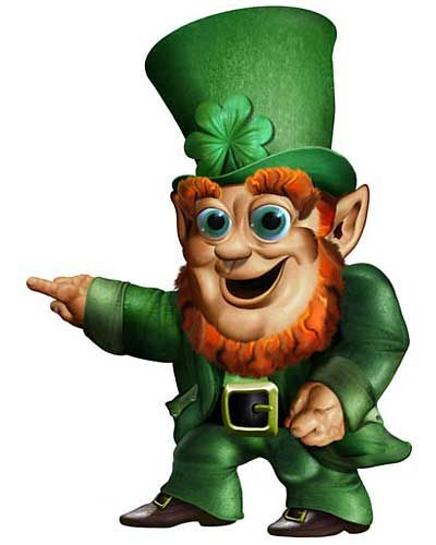 Midget man arrested leprechaun