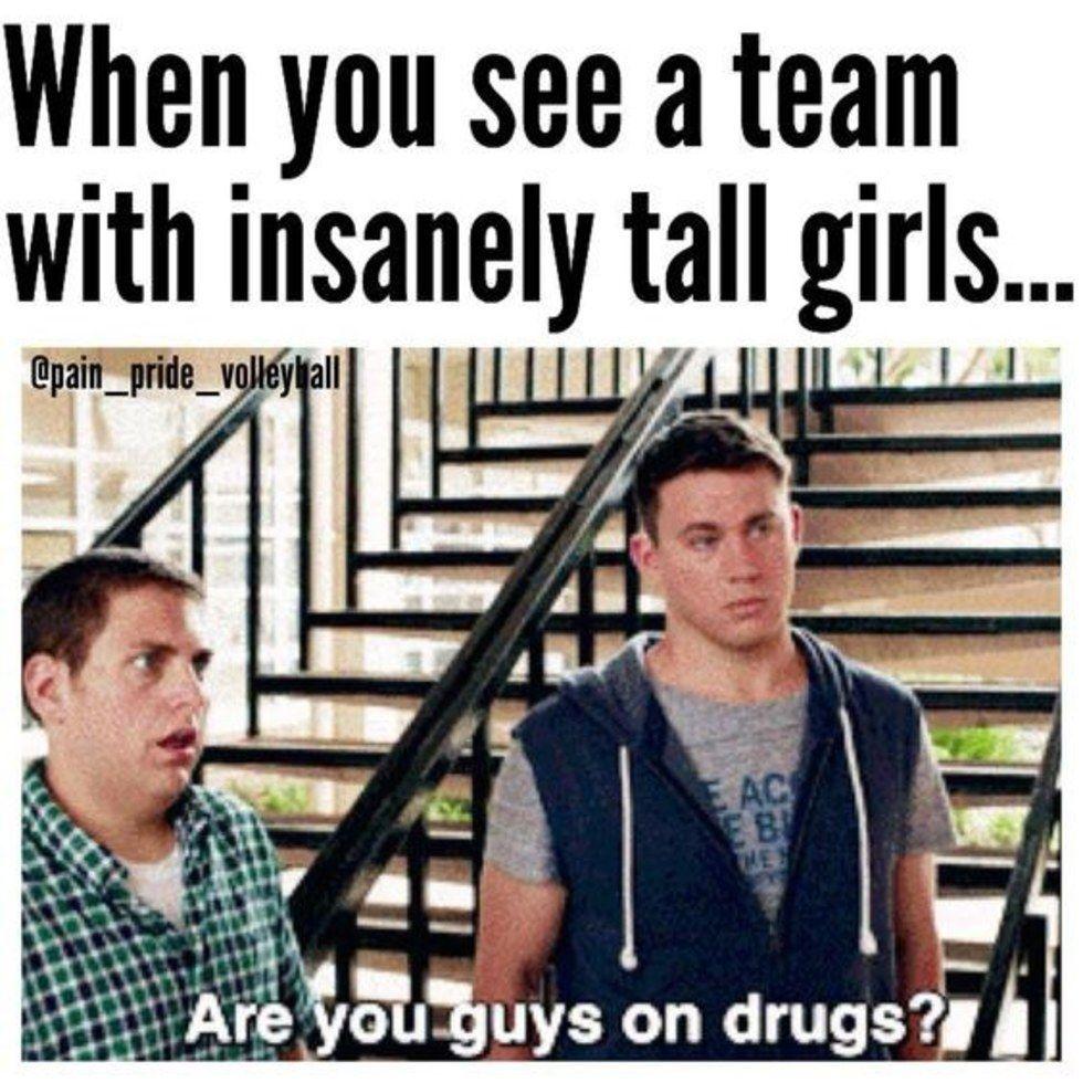 Volleyball Witze