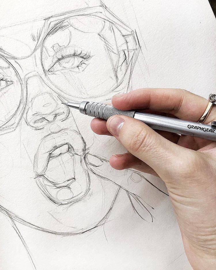 Wonderful Pencil Sketches Do You Prefer Mechanical