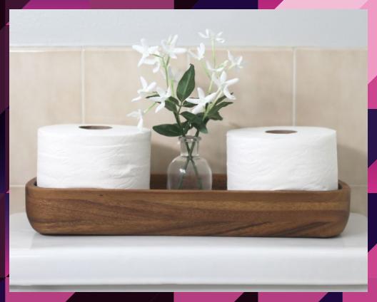 DIY Farmhouse Shelf Tutorial + A Bathroom Refresh The