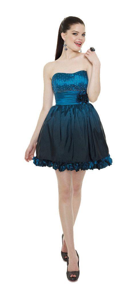 Mori Lee Sticks & Stones 9095 Short Ombre Prom Dress