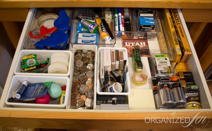 A Few Tips On Organizing That Pesky Kitchen Junk Drawer Storagesolutions Storage Organization Declu Kitchen Junk Drawer Junk Drawer Organizing Junk Drawer