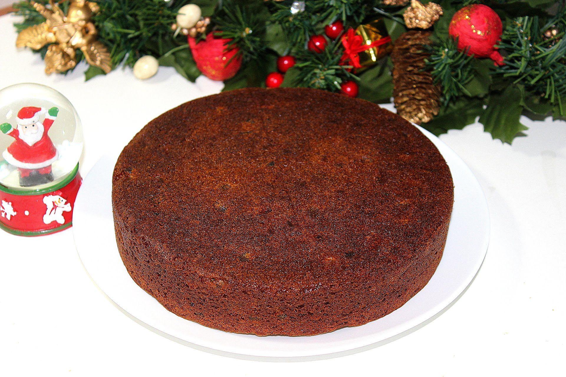 Christmas Fruit Cake Kerala Plum Cake With Wine Xmas Fruit Cake By Pacha Fruit Cake Christmas Plum Cake Fruit Cake