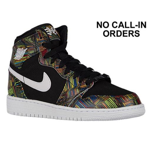 Jordan Aj 1 High Nouv Girls Grade School At Foot Locker Black History Month Shoes Sneakers Kids Shoes
