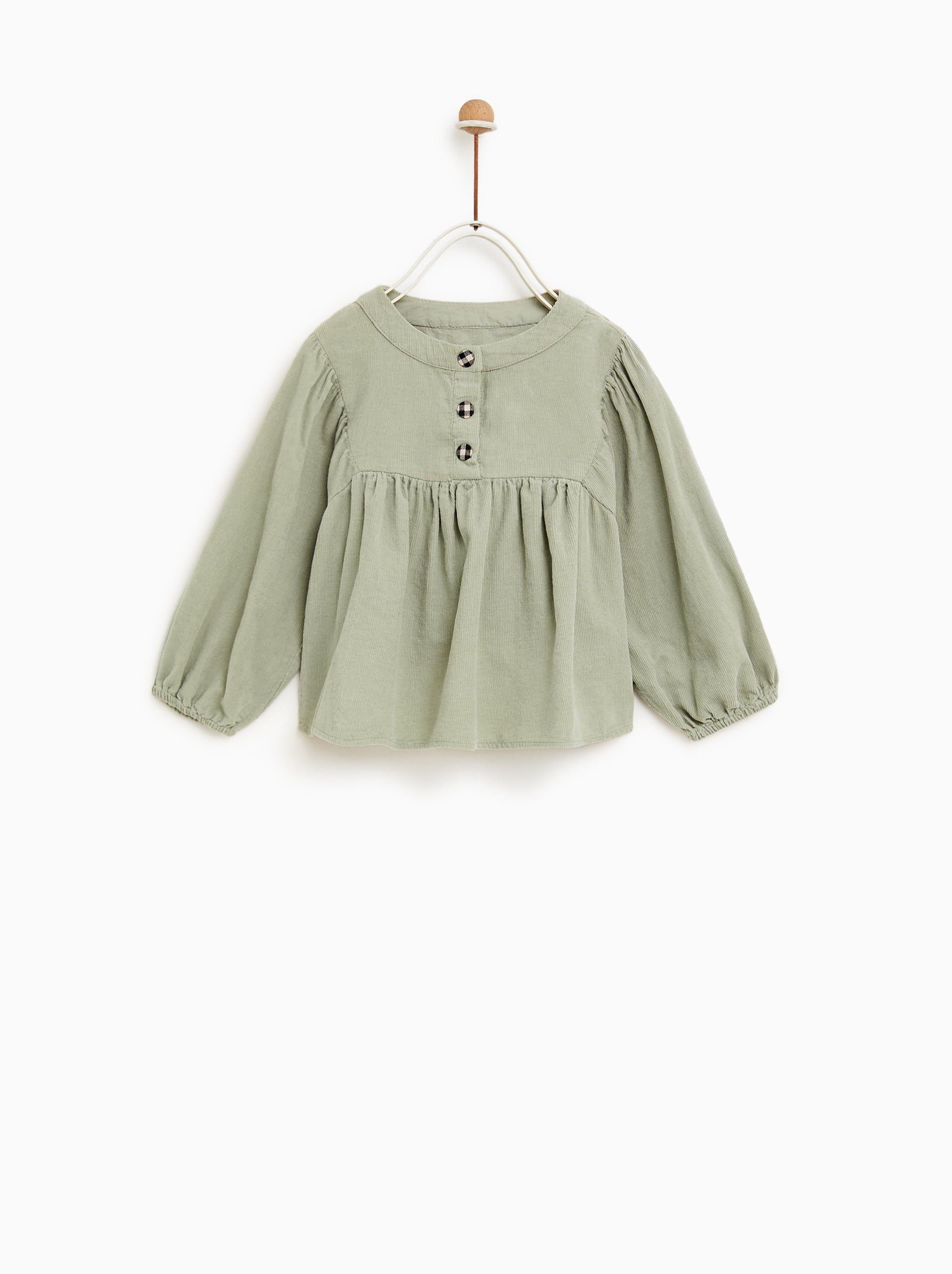 36197238 Image 1 of FINE CORDUROY SHIRT from Zara | bby clothes | Zara kids ...