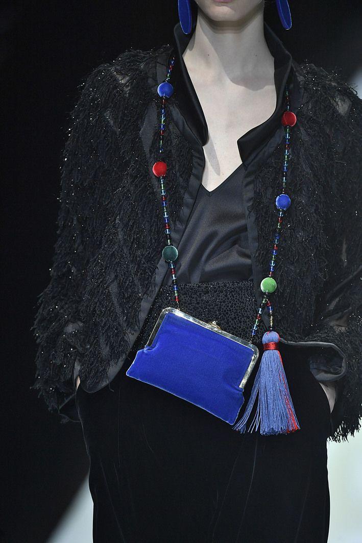 Giorgio Armani Fall 2017 Ready-to-Wear Details