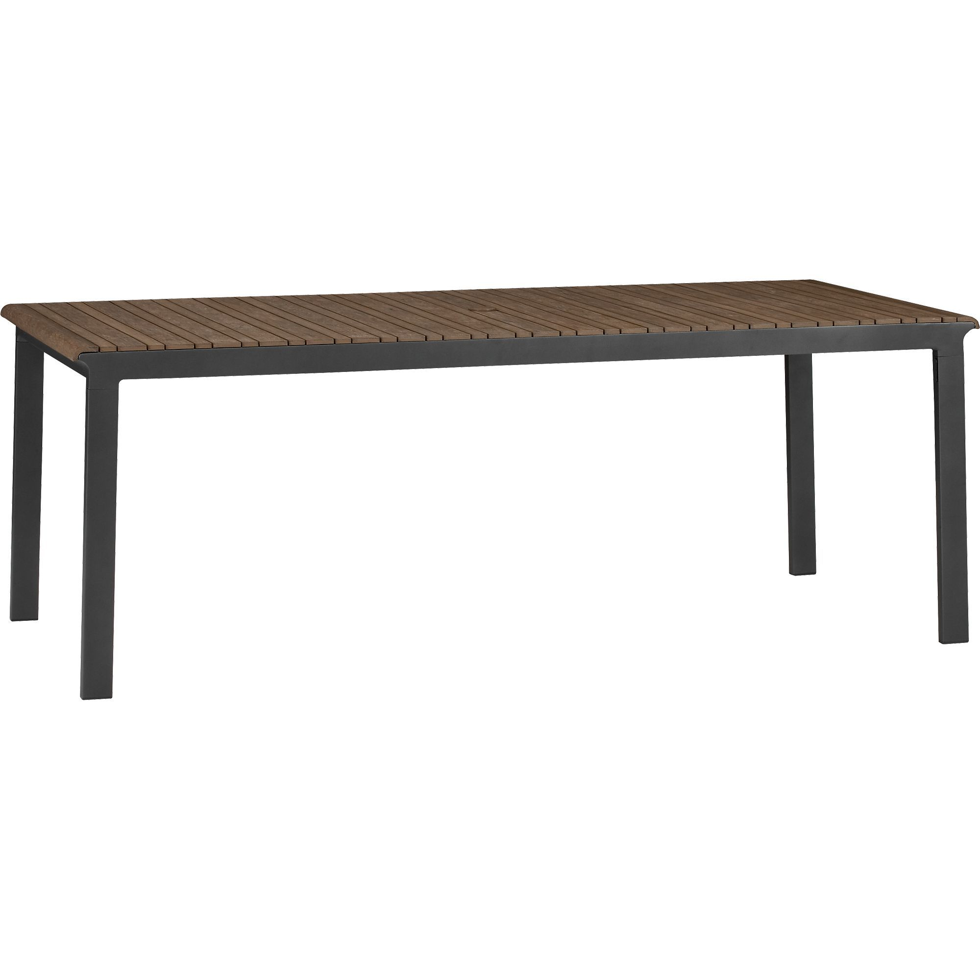 Rocha rectangular dining table in rocha collection crate and barrel