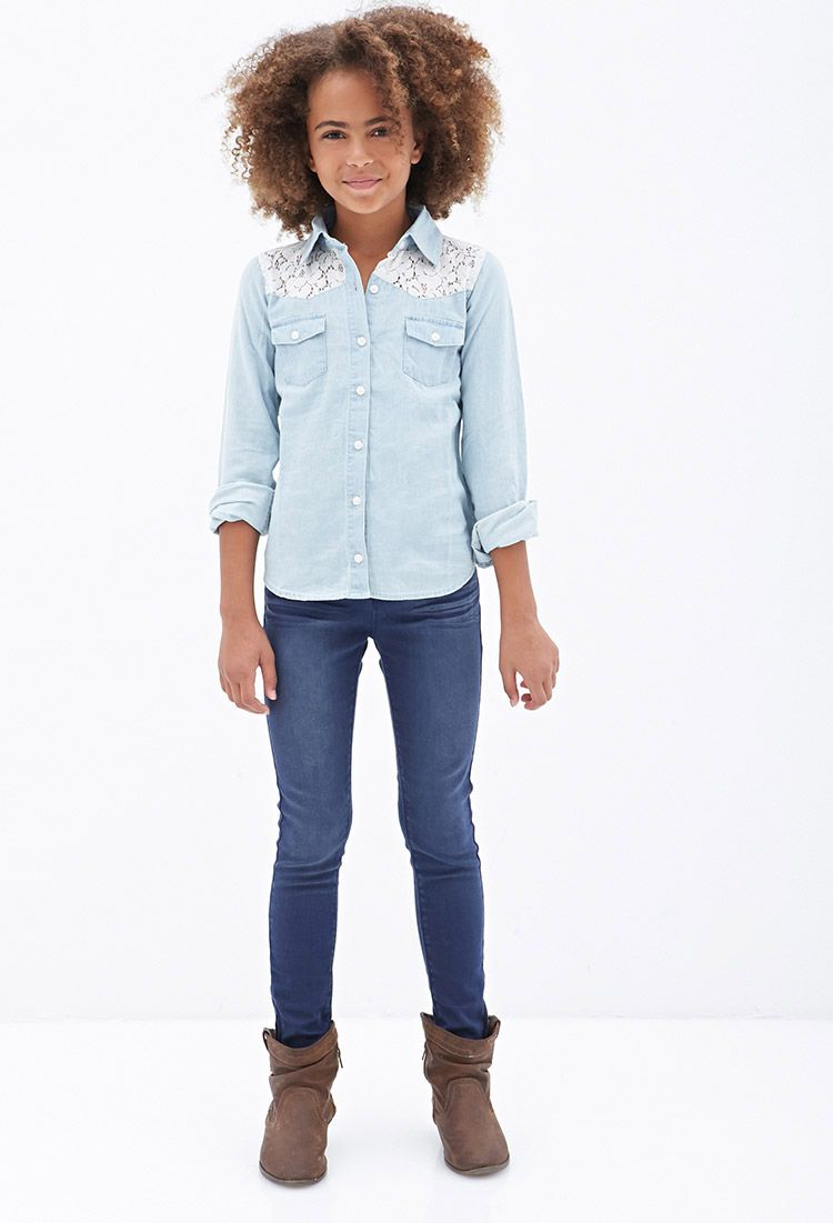 Kids Levis Skinny Jeans. Give you kids on-trend options in their wardrobe with kids Levis skinny jeans. The skinny jean is a fashion staple that's available for nearly every age group.