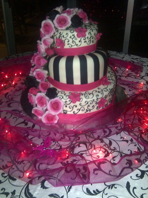 Pamela's 15th birthday cake