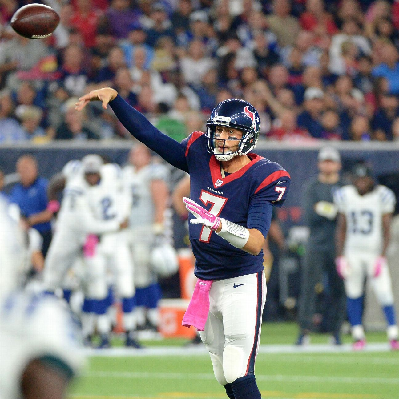 Hoyer Named Texans Starting Qb For Week 6 Texans Sports Pictures Brian Hoyer