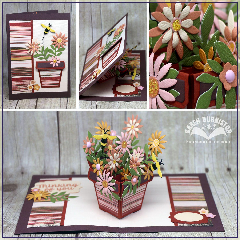 Karen Burniston Dies-Flowerpot Pop-Up