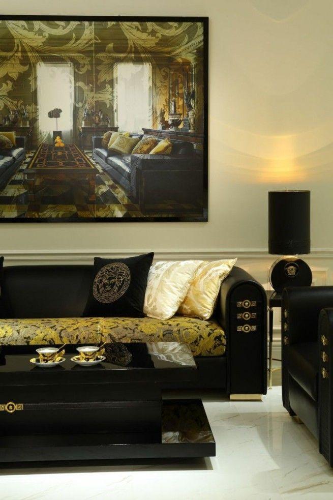 Living Room Trends: Versace Home   Inspirations U0026 Ideas