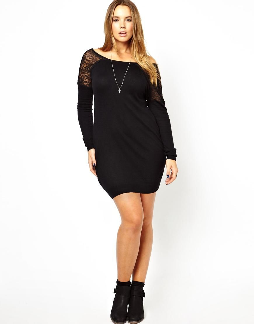 Cheap sexy plus size column off the shoulder long sleeves short mini