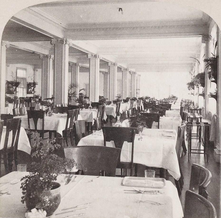 Henry Flagler's Royal Palm Dining Room , Miami, Florida
