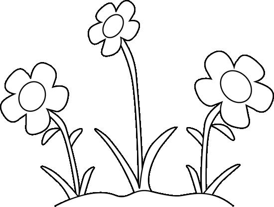 Black And White Flower Garden Clip Art Black And White Flower In 2021 Clip Art Black And White Clipart Black And White Clip Art