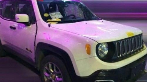 Jeep Renegade Spotted On Chinese Roads Again Jeep Renegade Jeep
