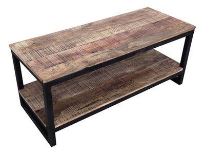 Meuble tv FACTORY bois vieilli et métal\u2026 étagères Pinterest