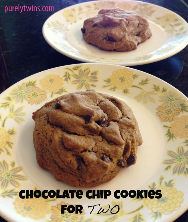 Chocolate chip cookies (serves 2) gluten-free