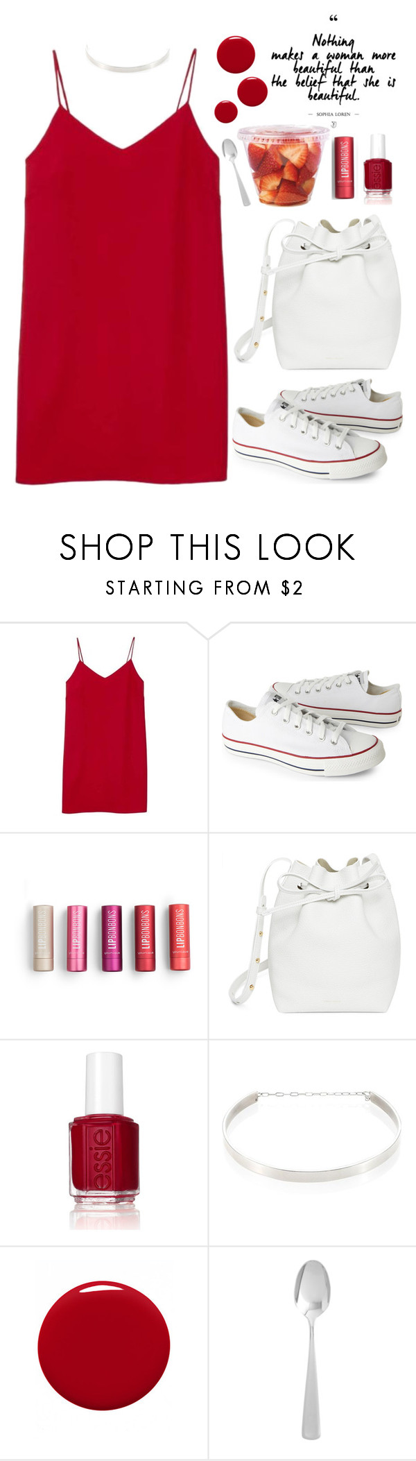 """""""Untitled #36"""" by kell-a ❤ liked on Polyvore featuring Alexia Ulibarri, Converse, Mansur Gavriel, Essie, Jennifer Zeuner, Givenchy and Pier 1 Imports"""