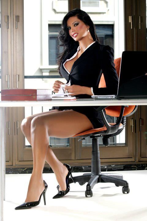 women the office sexy Hot in