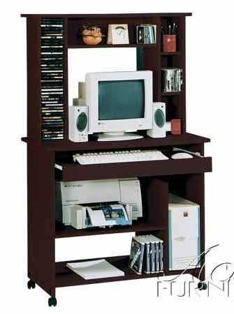 acme aspen fall computer desk with hutch espresso finish by acme rh pinterest com