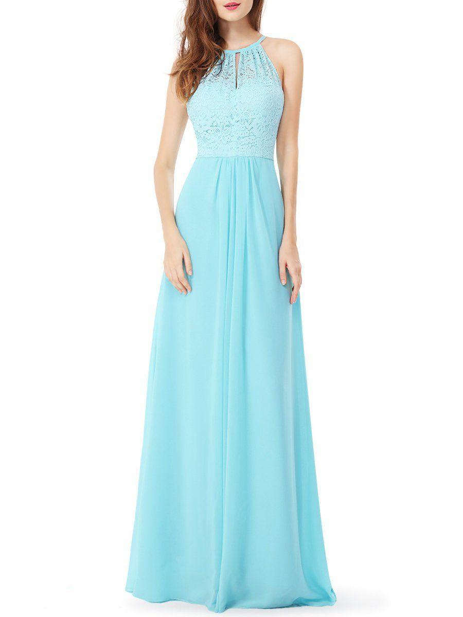 AdoreWe #StyleWe Maxi Dresses - Designer CICI WANG Lace Paneled ...