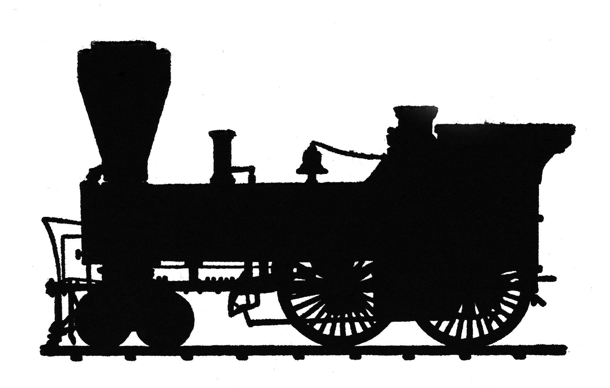 Http Clipart Library Com Clipart Clipart 1143811 Htm Train Silhouette Vintage Train Silhouette Png