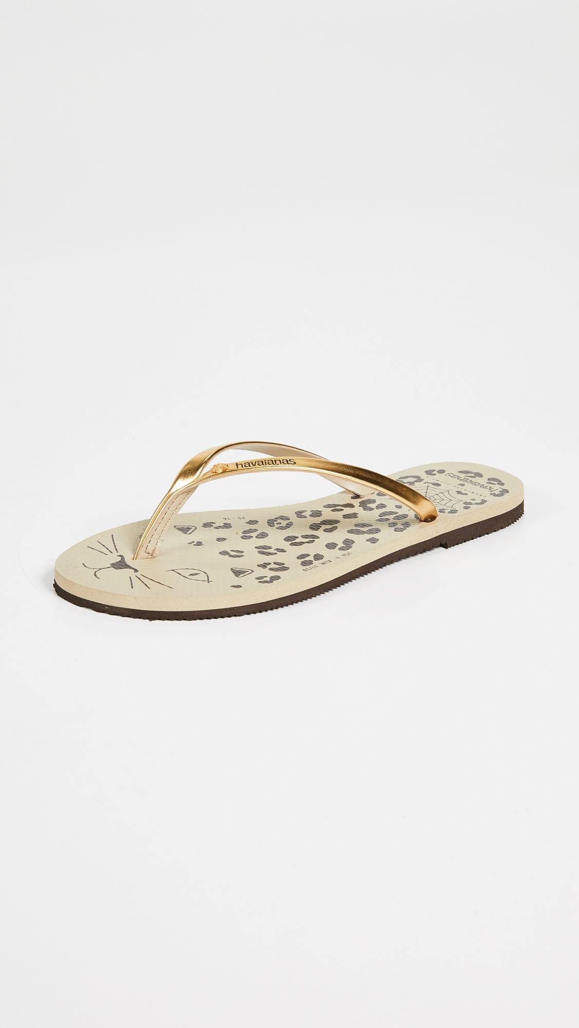 6c123e45016c45 Havaianas x Charlotte Olympia Flip Flops