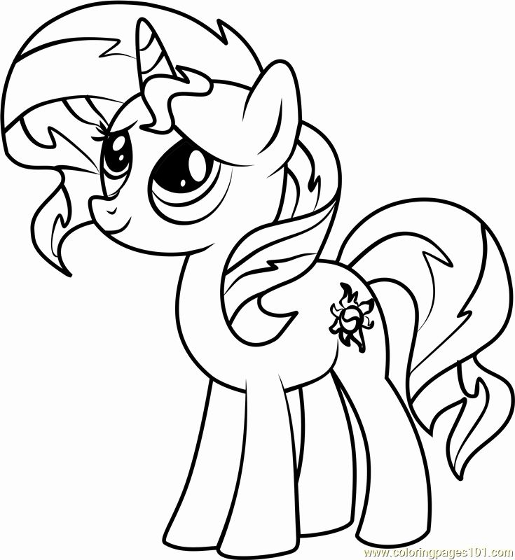 Sunset Shimmer Coloring Page Inspirational Sunset Shimmer Pony Coloring Page Free My Litt My Little Pony Coloring My Little Pony Unicorn Unicorn Coloring Pages