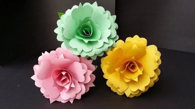 Diy How To Make Beautiful Realistic Paper Rose Paper