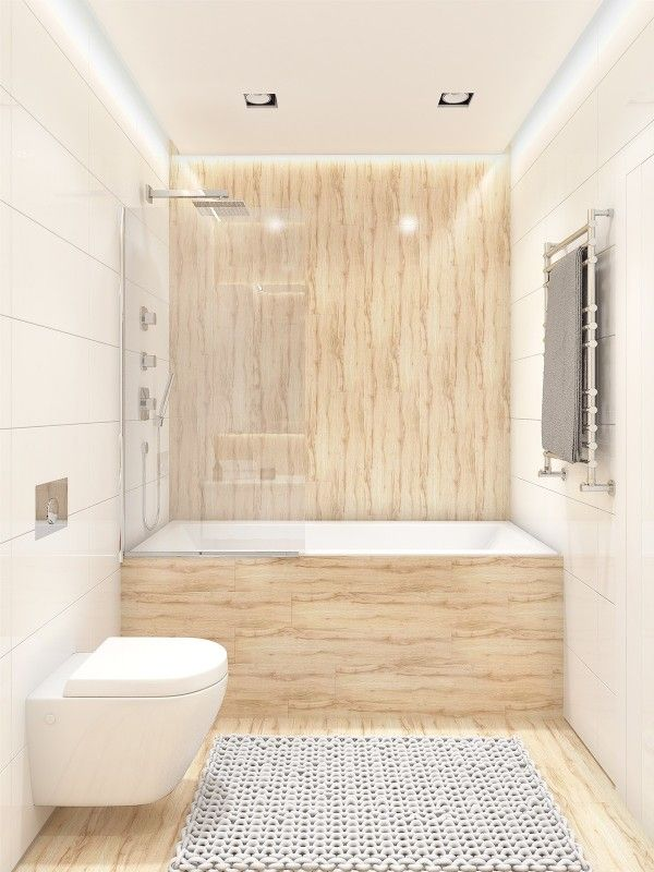 Similarly Simple Designs With A Bright And Cheerful Tone - Simple-bathrooms