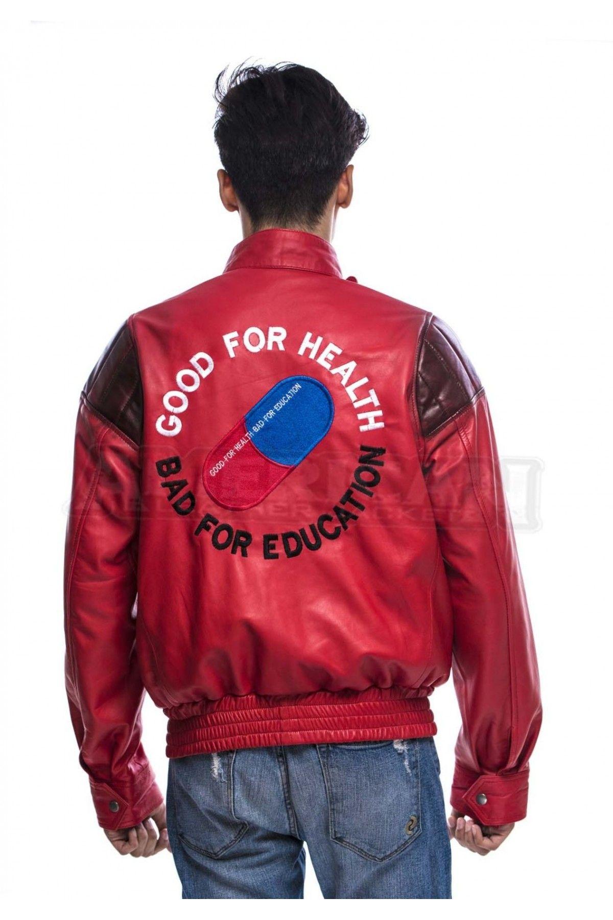 Akira Kaneda Red Leather Jacket Red Leather Jacket Leather Jacket Jackets [ 1800 x 1200 Pixel ]