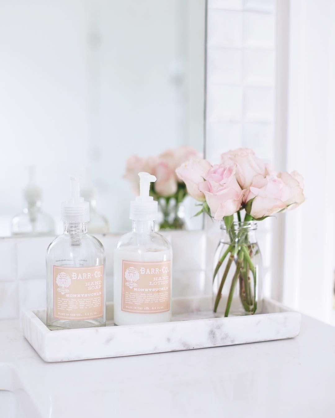 Bathroom Vanity Tray Decor Pinterest Xioohh❥  Home Decor  Pinterest  Apartments
