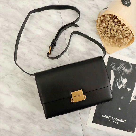 018dcd91db YSL A W 2017 Collection-Saint Laurent Medium Bellechasse Bag in black  leather