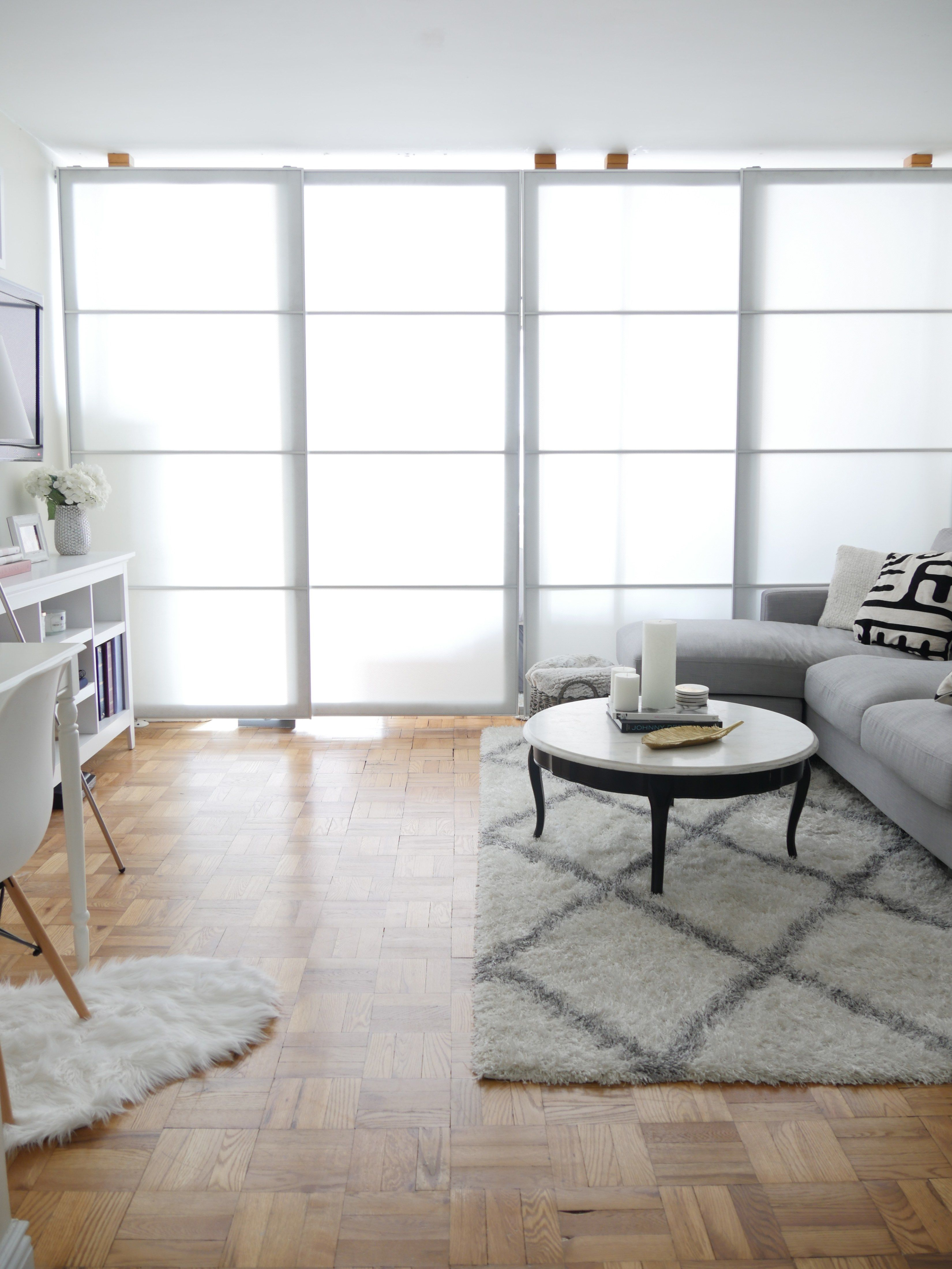 before after chic meets glam inside a nyc studio apartment home rh pinterest com