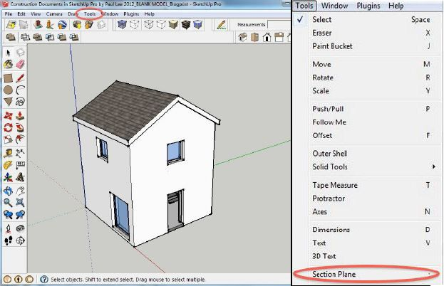 Creating A Plan Of Your Sketchup Model In Layout Sketchup Model