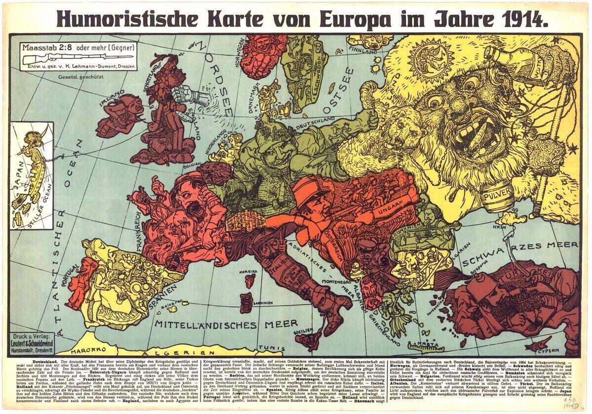 1914 Pin by Willem Gabriel on cartoon
