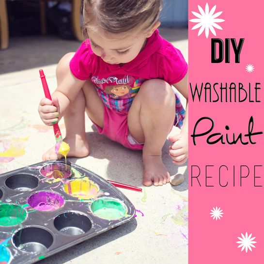 Washable Chalk Paint Recipe