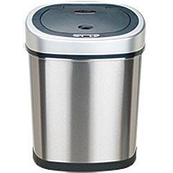 nine stars stainless steel 11 1 gallon motion sensor trash can rh pinterest com