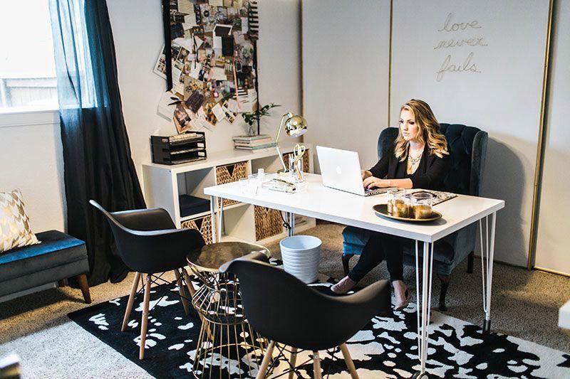 Jennifer Harrup's Houston, Texas Home Office Tour # ...