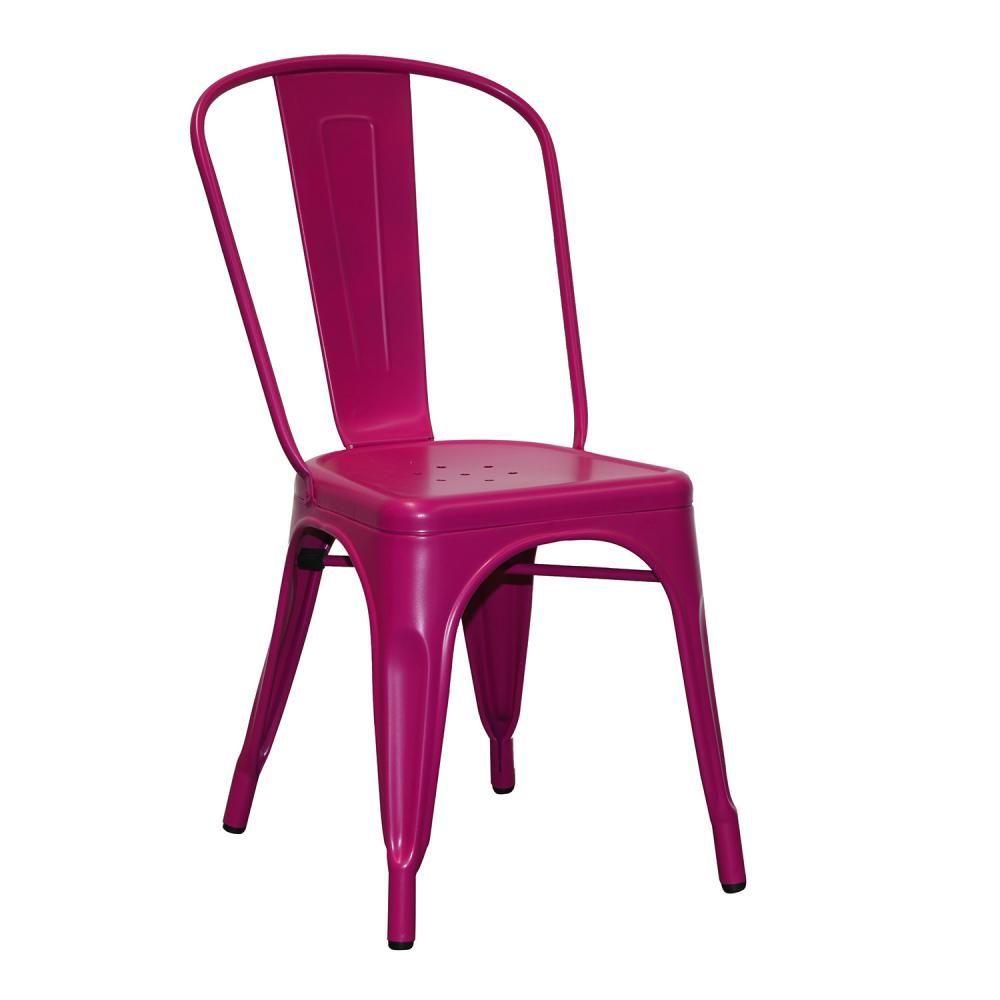 Marias Chair In Fuschia