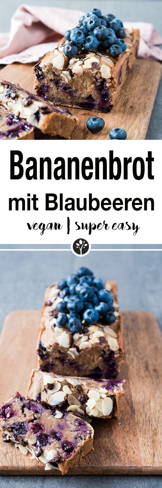Photo of Bananenbrot mit Blaubeeren | NataschaKimberly
