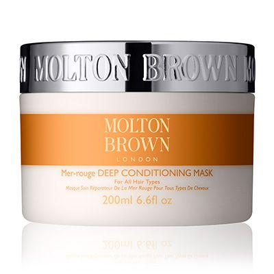 Deep conditioning hair mask for all hair types - Molton Brown UK - Hair saviour. Has done wonders on my crunchy ends.