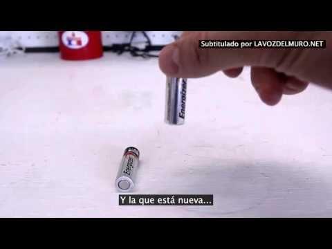 Comprueba si las pilas que tienes por casa están cargadas o no con este rápido y sencillo truco - CuriosaVita