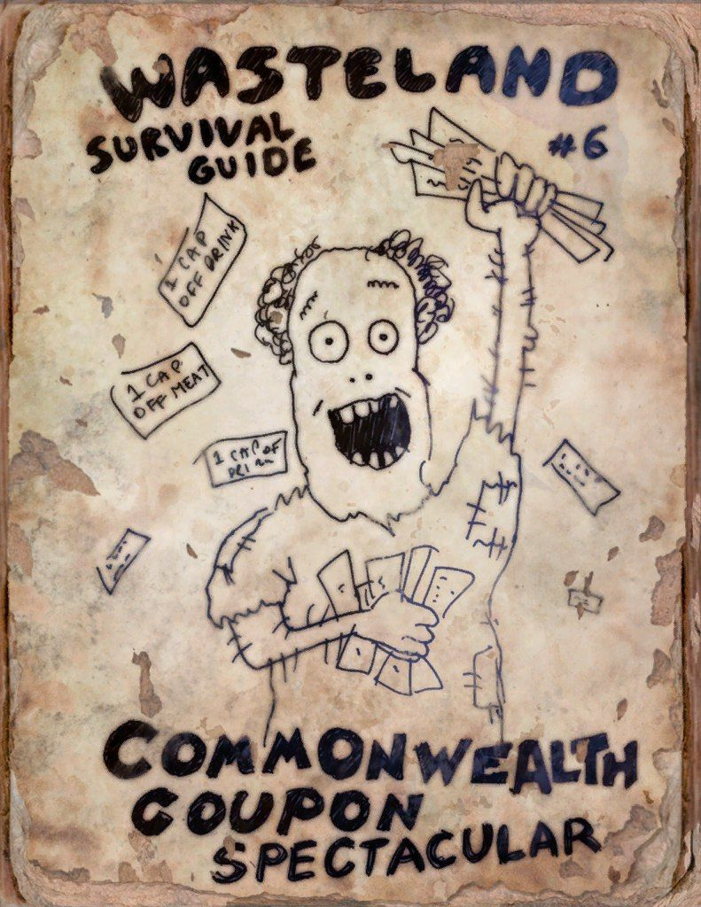 Fallout 4 Wasteland Survival Guide Issue 6 Fallout