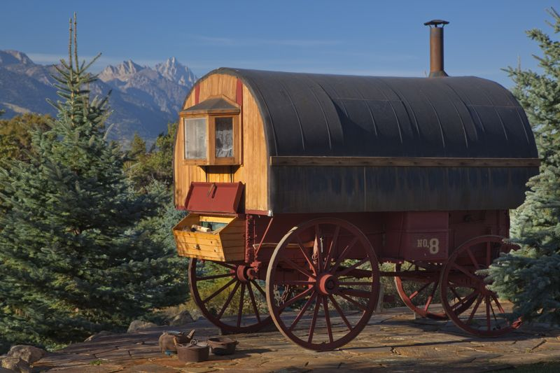 Sheepherder's Wagon remodel for guest bedroom!